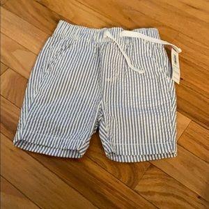 NWT Old Navy Boys Seersucker Shorts